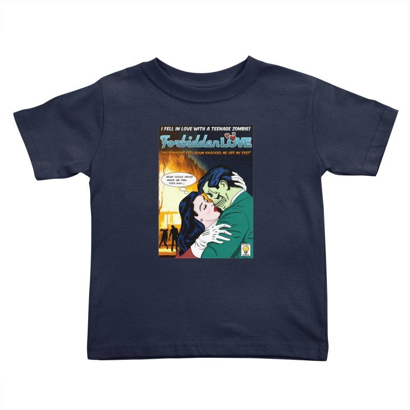 Forbidden Love Kids Toddler T-Shirt by ferg's Artist Shop