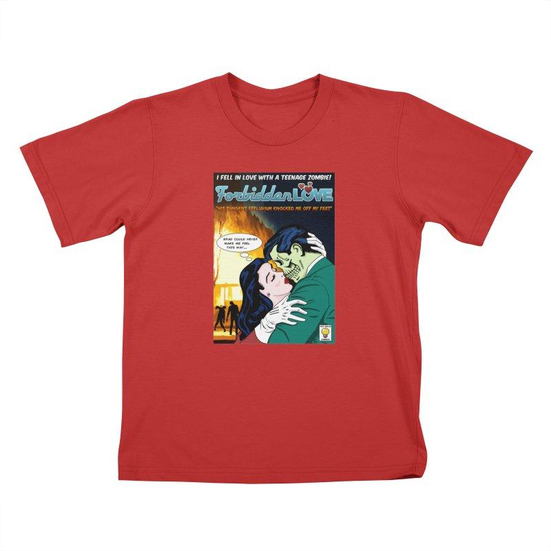 Forbidden Love Kids T-Shirt by ferg's Artist Shop