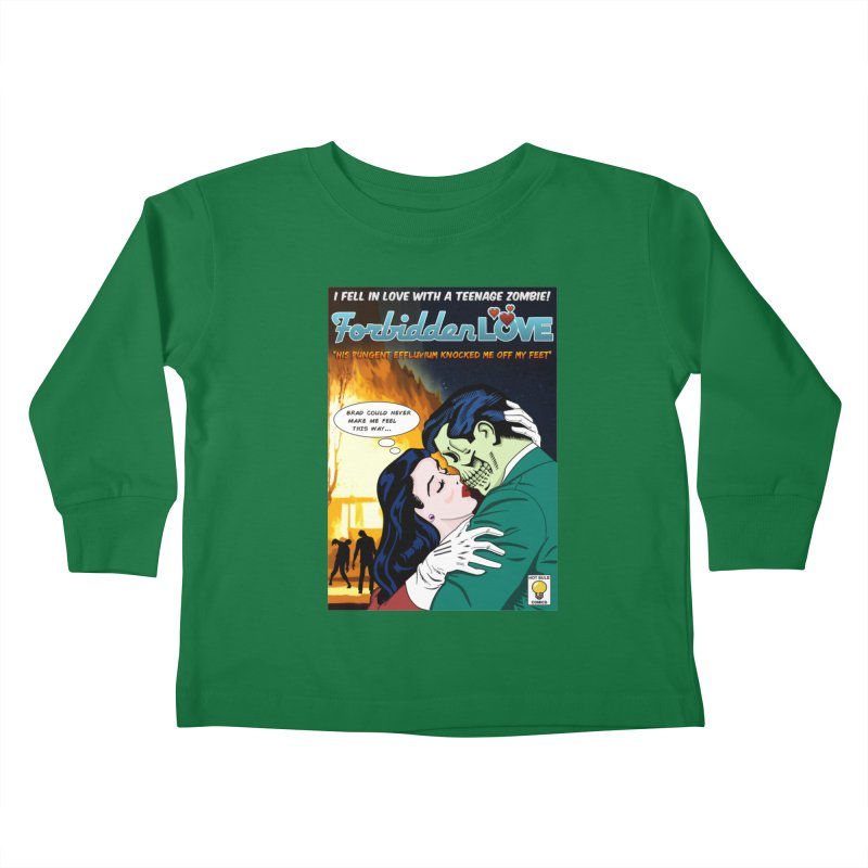Forbidden Love Kids Toddler Longsleeve T-Shirt by ferg's Artist Shop