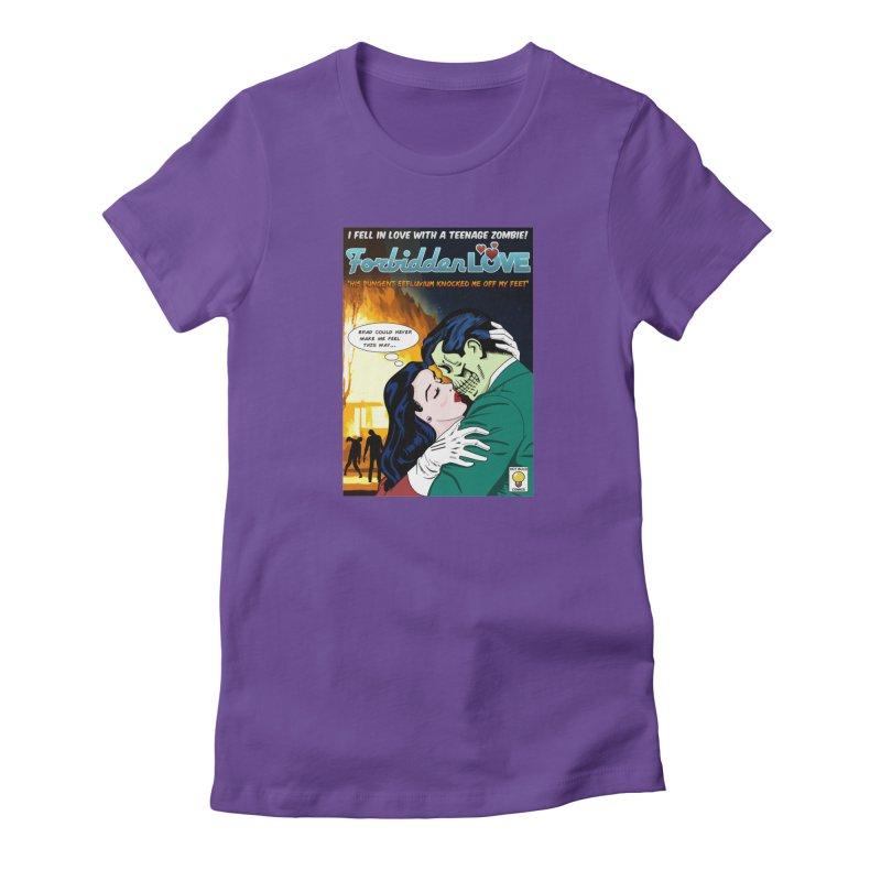 Forbidden Love Women's T-Shirt by ferg's Artist Shop