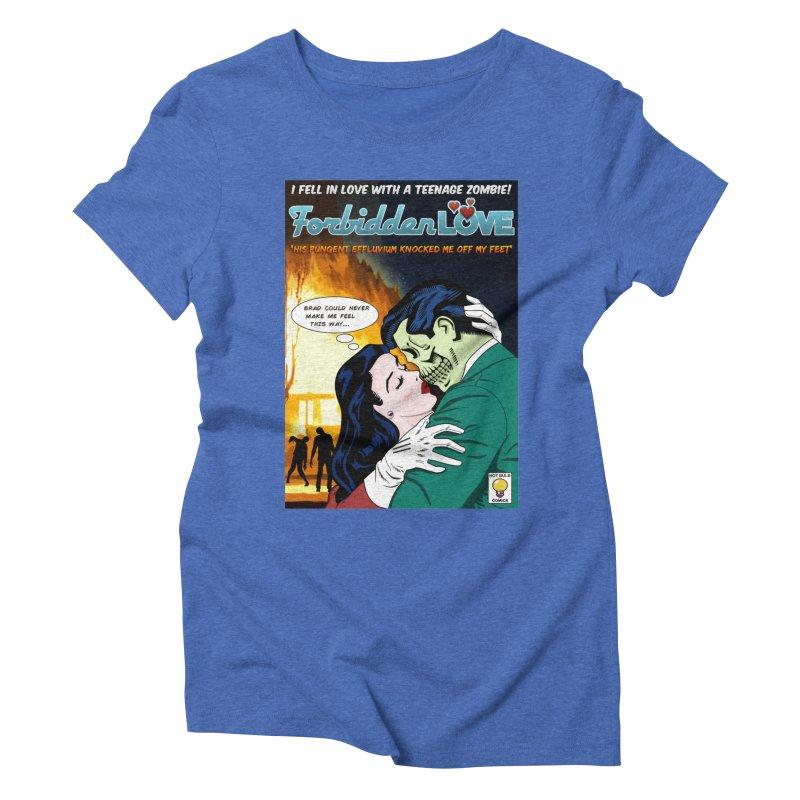 Forbidden Love Women's Triblend T-shirt by ferg's Artist Shop