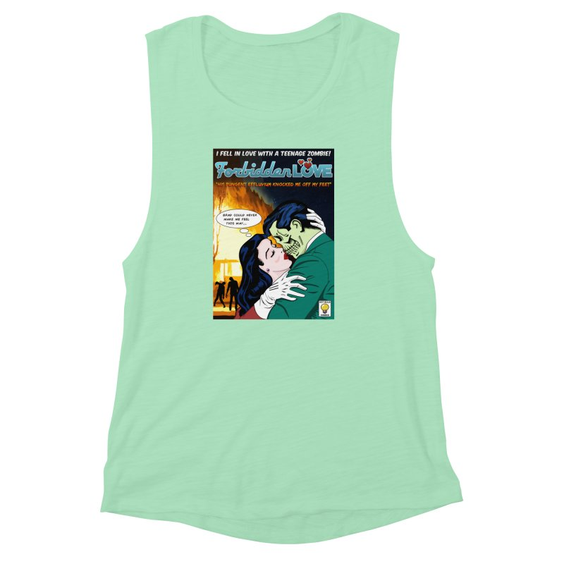Forbidden Love Women's Muscle Tank by ferg's Artist Shop