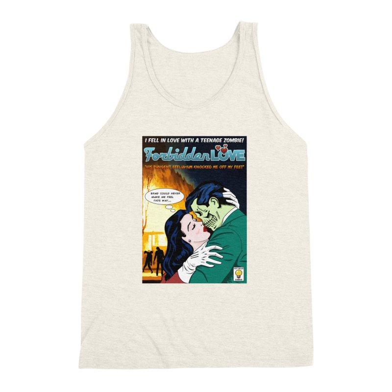 Forbidden Love Men's Triblend Tank by ferg's Artist Shop