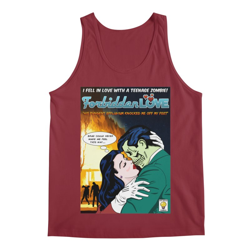 Forbidden Love Men's Tank by ferg's Artist Shop