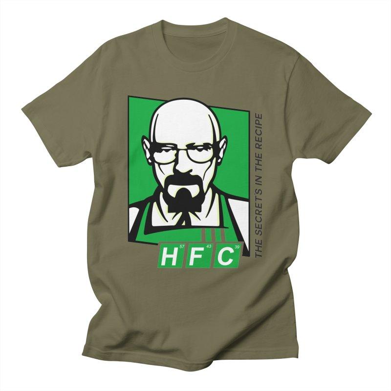 Heisenberg Fried Chicken Men's T-Shirt by ferg's Artist Shop