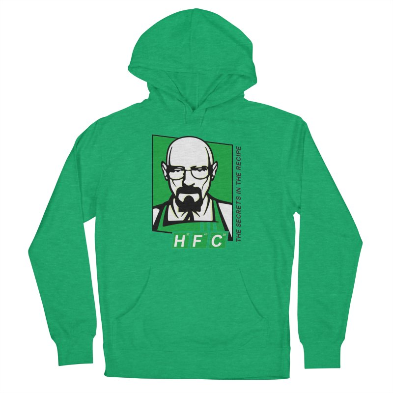 Heisenberg Fried Chicken Women's French Terry Pullover Hoody by ferg's Artist Shop