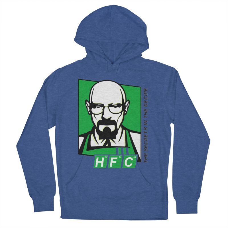 Heisenberg Fried Chicken Men's French Terry Pullover Hoody by ferg's Artist Shop