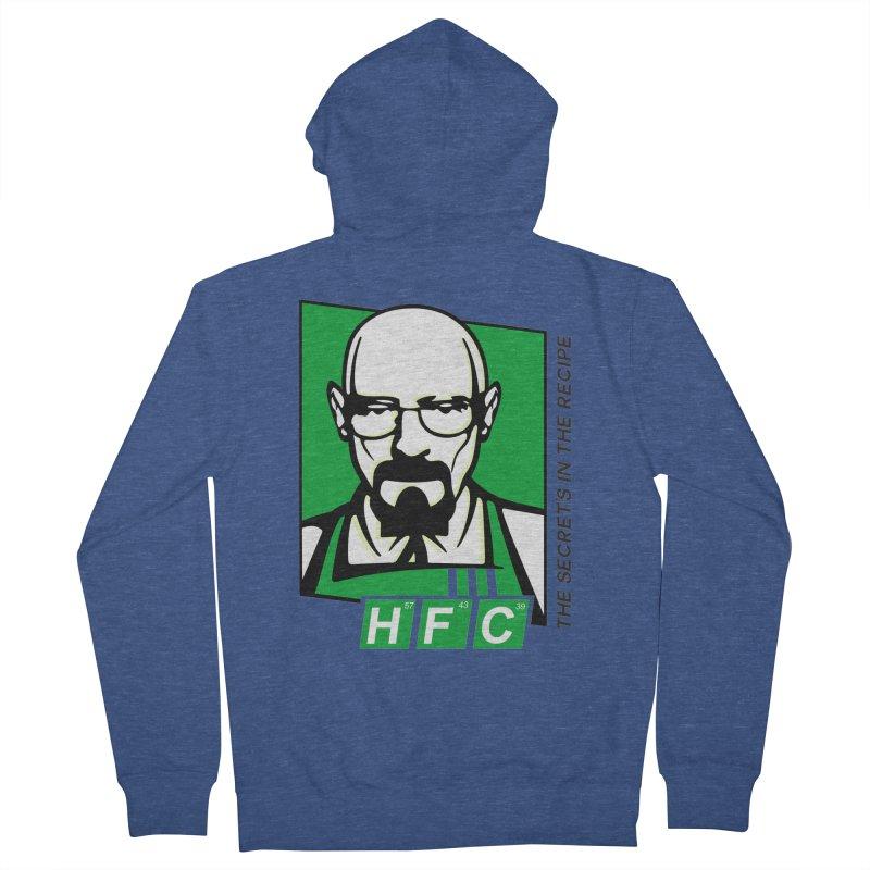 Heisenberg Fried Chicken Women's French Terry Zip-Up Hoody by ferg's Artist Shop