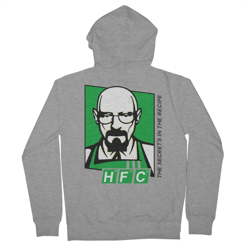 Heisenberg Fried Chicken Women's French Terry Zip-Up Hoody by ferg's Artist Shop