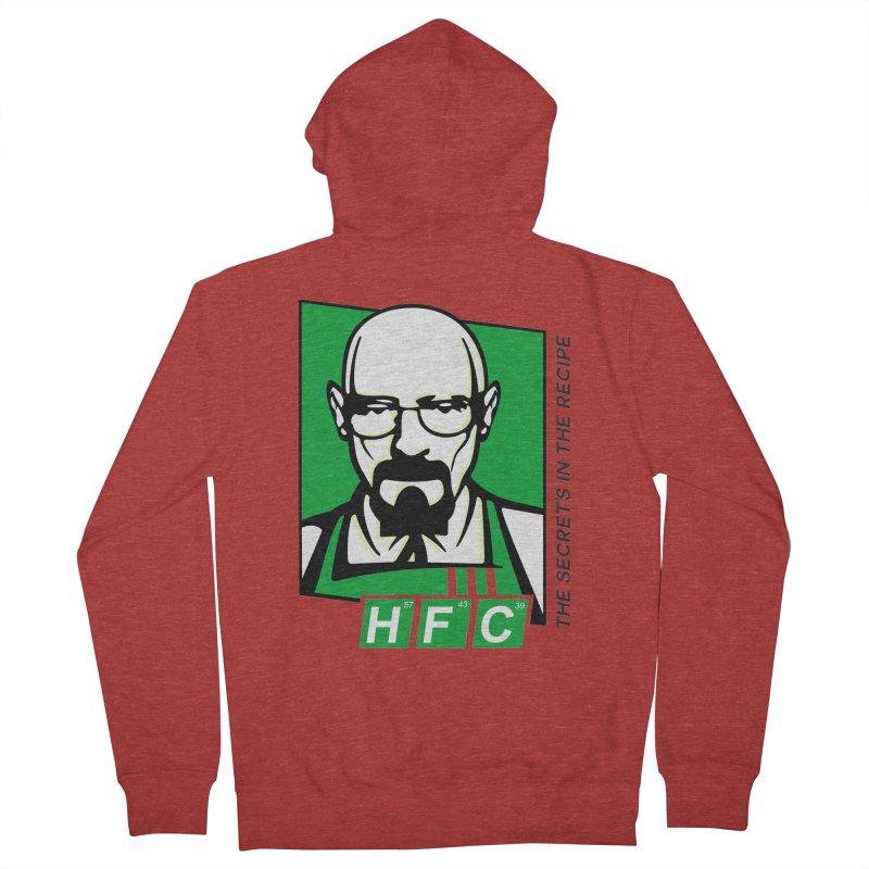 Heisenberg Fried Chicken Women's Zip-Up Hoody by ferg's Artist Shop