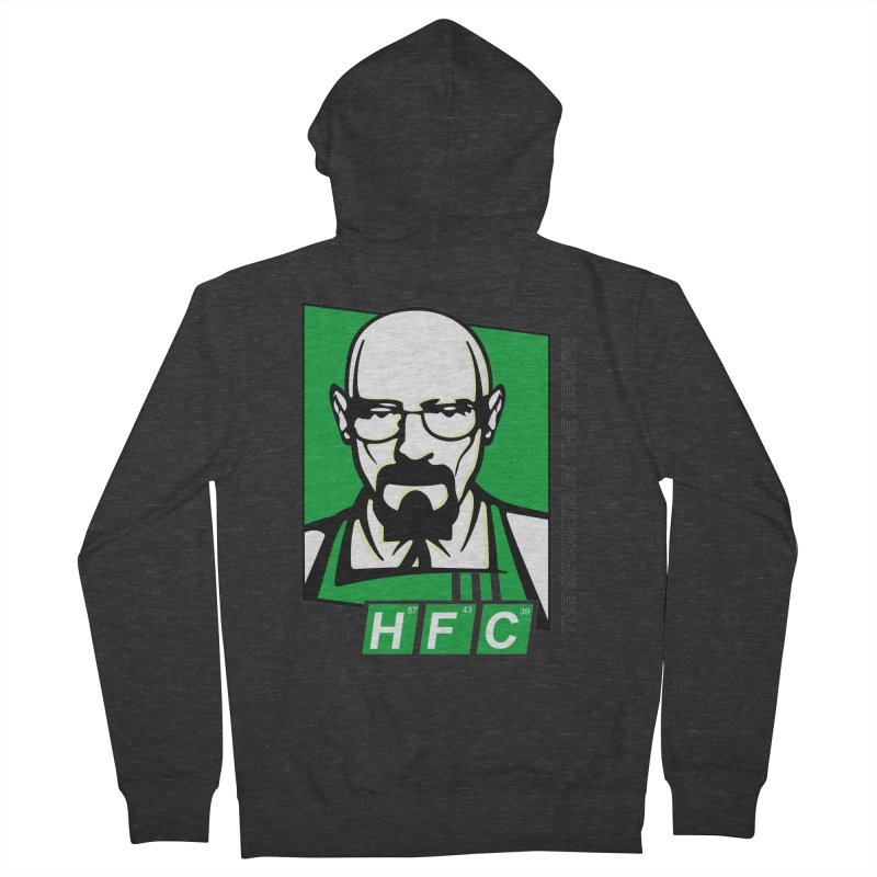Heisenberg Fried Chicken Men's French Terry Zip-Up Hoody by ferg's Artist Shop