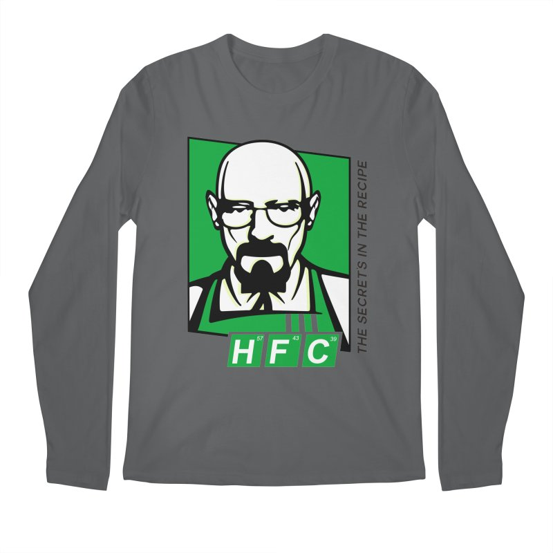 Heisenberg Fried Chicken Men's Longsleeve T-Shirt by ferg's Artist Shop