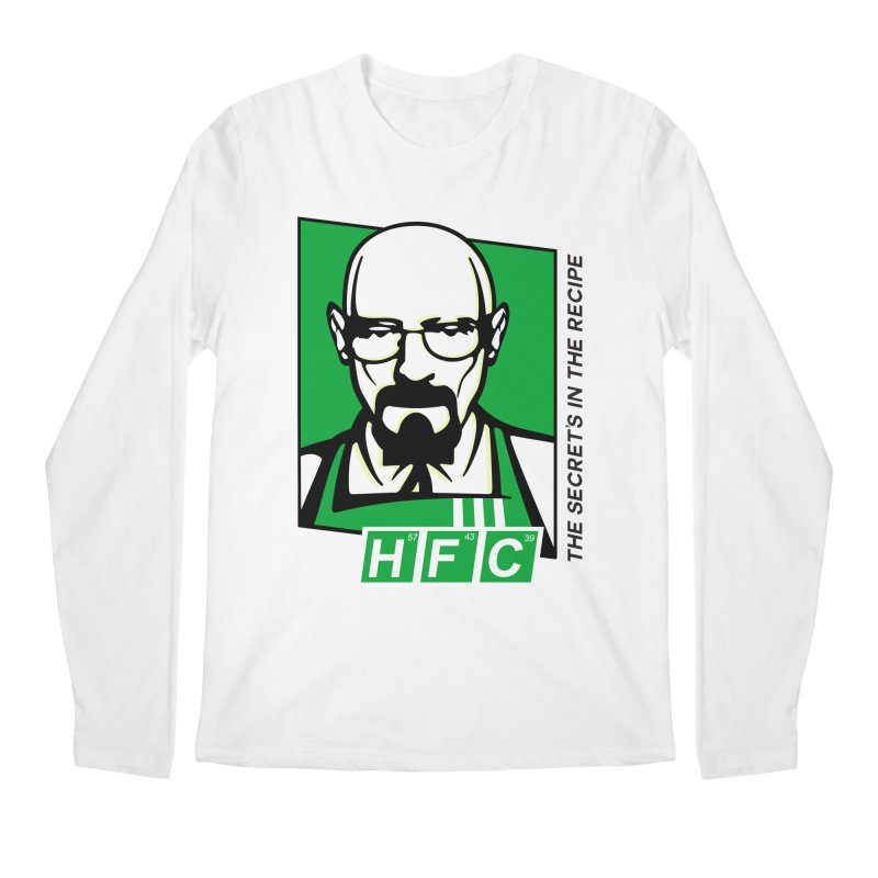 Heisenberg Fried Chicken Men's Regular Longsleeve T-Shirt by ferg's Artist Shop