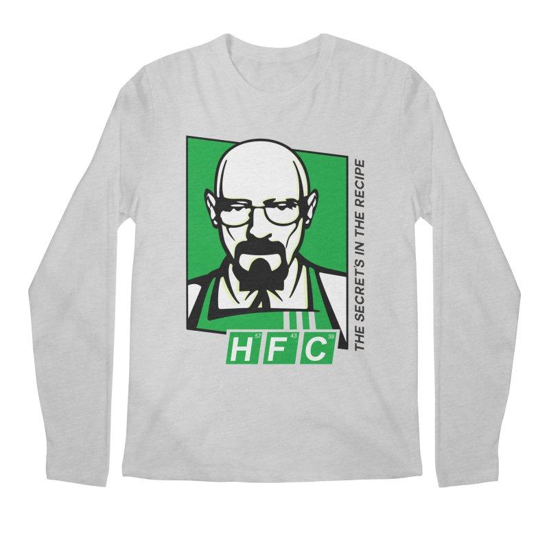 Heisenberg Fried Chicken Men's Regular Longsleeve T-Shirt by ferg's Artist Shop
