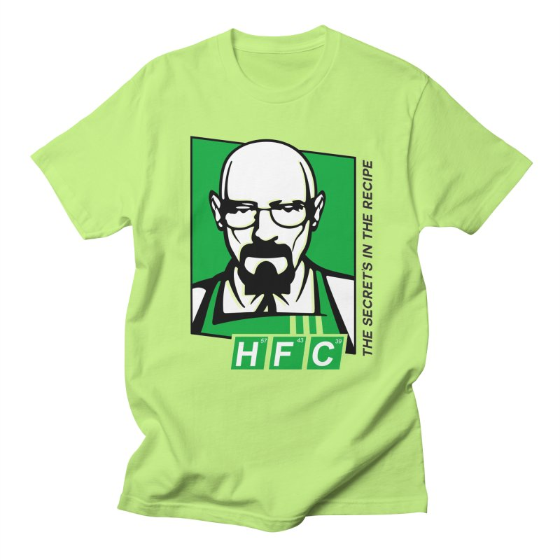 Heisenberg Fried Chicken Men's Regular T-Shirt by ferg's Artist Shop