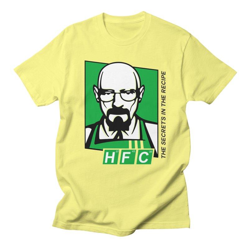 Heisenberg Fried Chicken Men's Regular T-Shirt by ferg's Artist Shop