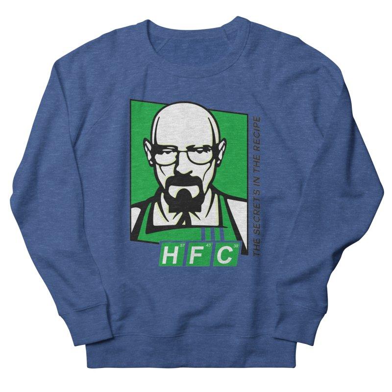 Heisenberg Fried Chicken Women's French Terry Sweatshirt by ferg's Artist Shop