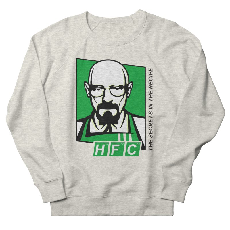 Heisenberg Fried Chicken Women's French Terry Sweatshirt by ferg's Artist Shop