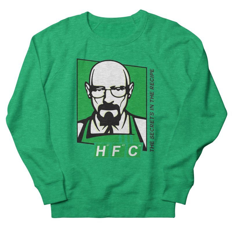 Heisenberg Fried Chicken Men's French Terry Sweatshirt by ferg's Artist Shop