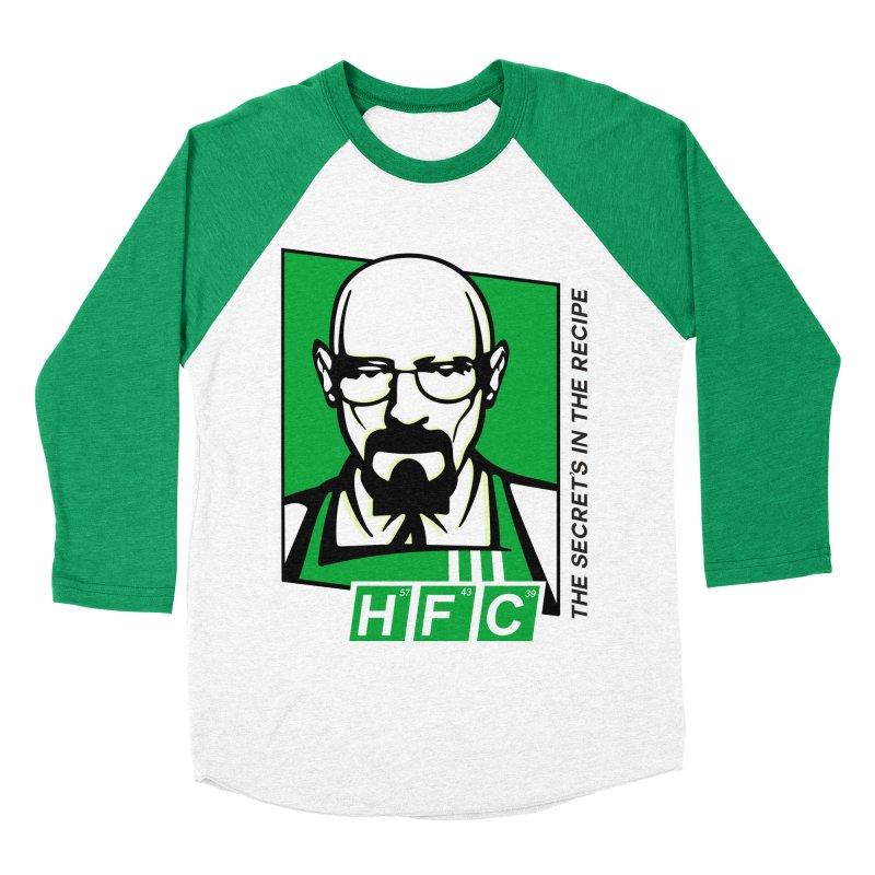 Heisenberg Fried Chicken Women's Baseball Triblend Longsleeve T-Shirt by ferg's Artist Shop