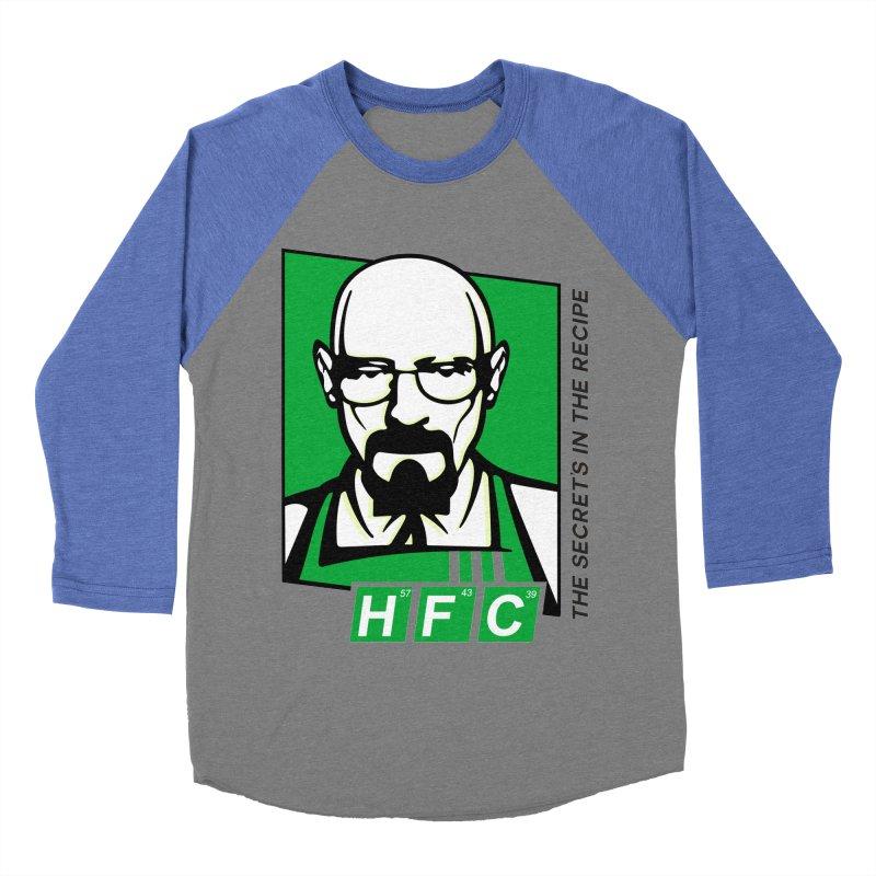 Heisenberg Fried Chicken Women's Baseball Triblend T-Shirt by ferg's Artist Shop