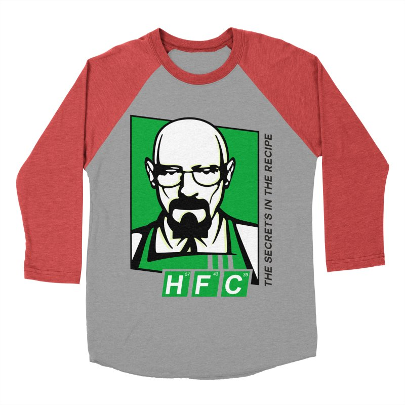 Heisenberg Fried Chicken Women's Baseball Triblend T-Shirt by ferg's Artist Shop