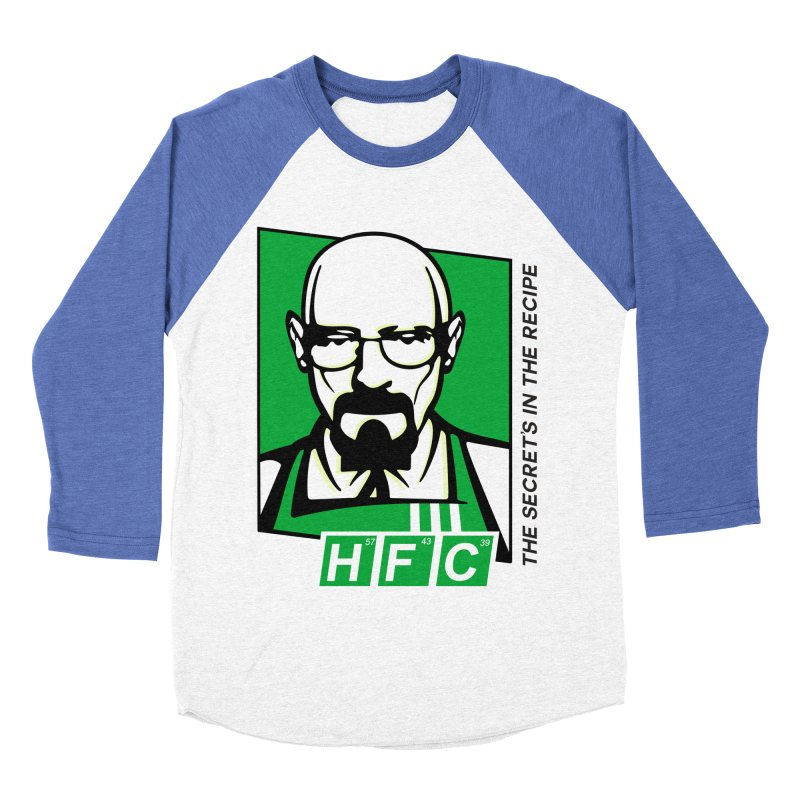 Heisenberg Fried Chicken Men's Baseball Triblend Longsleeve T-Shirt by ferg's Artist Shop