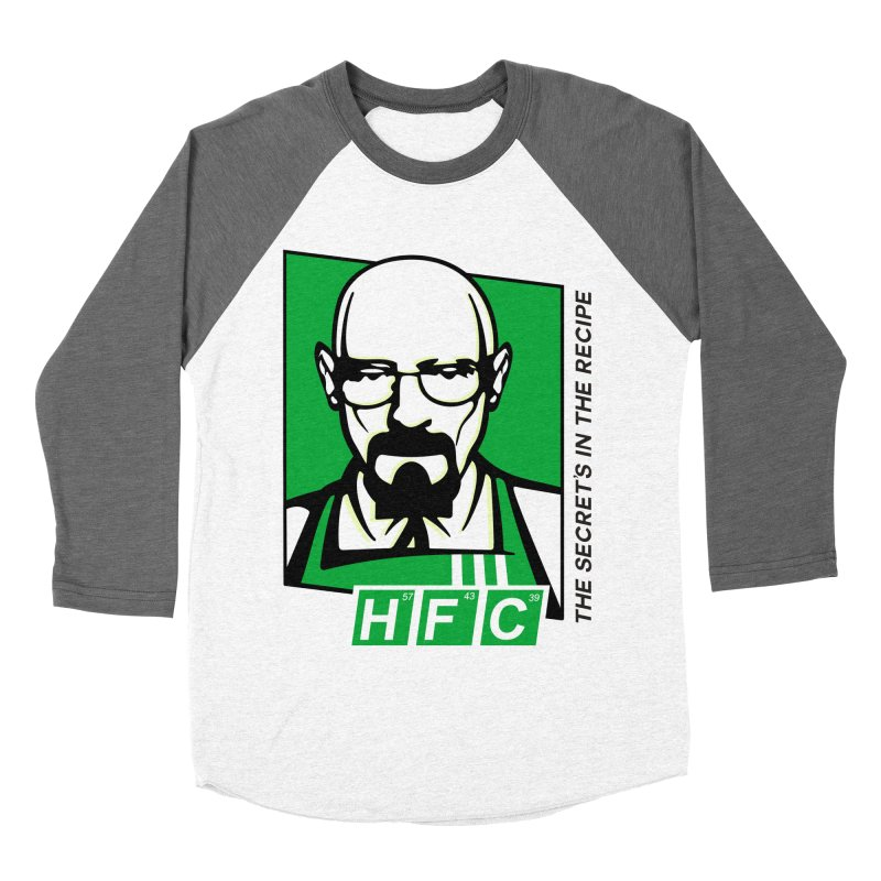 Heisenberg Fried Chicken Men's Baseball Triblend Longsleeve T-Shirt by ferg's Artist Shop