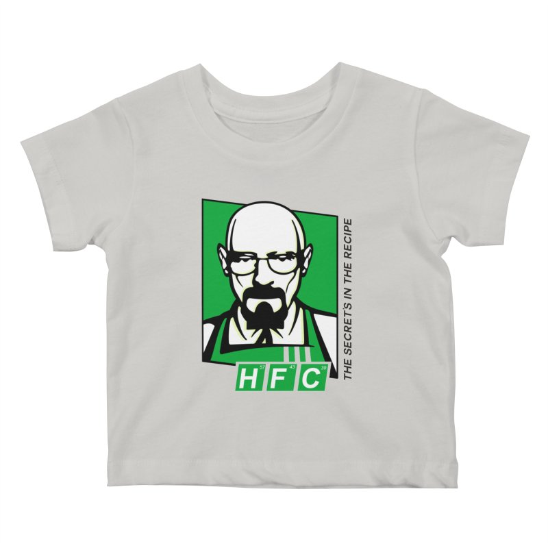 Heisenberg Fried Chicken Kids Baby T-Shirt by ferg's Artist Shop