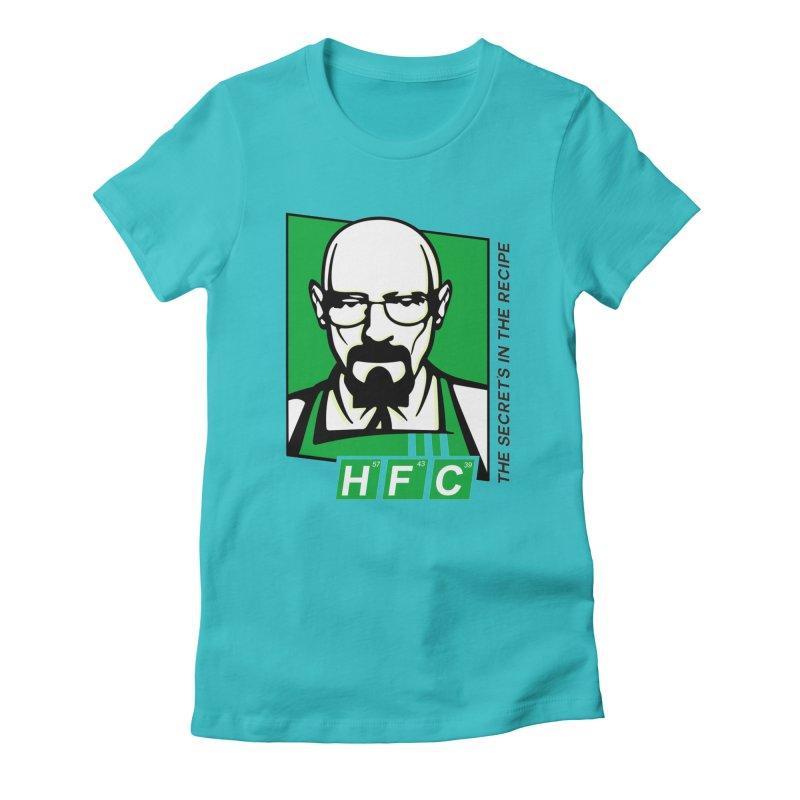 Heisenberg Fried Chicken Women's T-Shirt by ferg's Artist Shop
