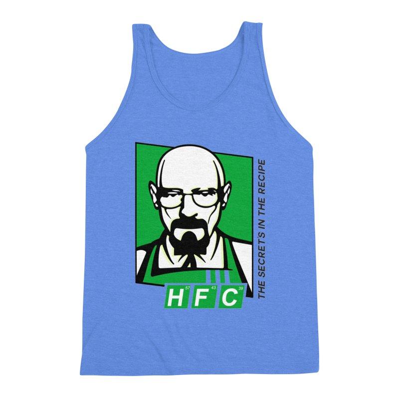 Heisenberg Fried Chicken Men's Triblend Tank by ferg's Artist Shop