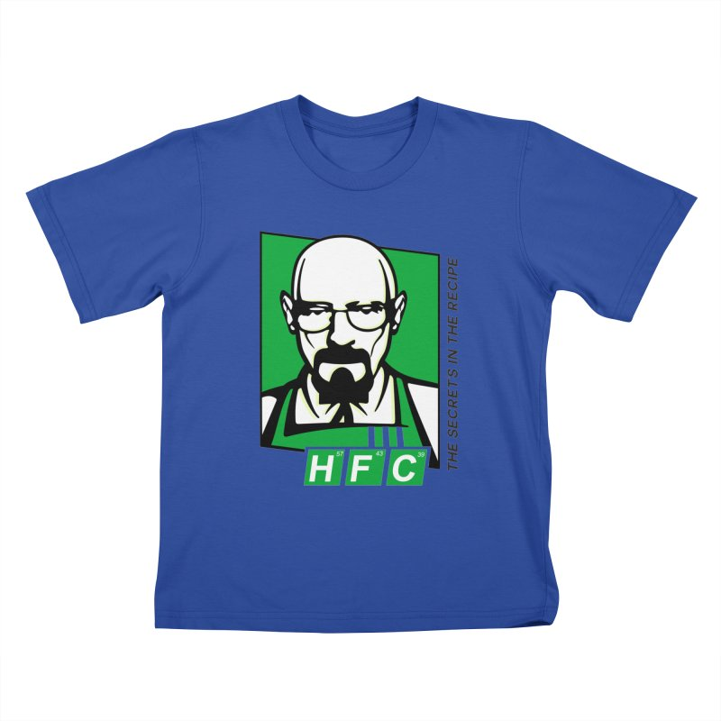 Heisenberg Fried Chicken Kids T-Shirt by ferg's Artist Shop