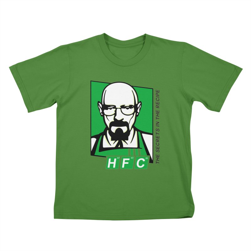 Heisenberg Fried Chicken Kids T-Shirt by ferg's Artist Shop