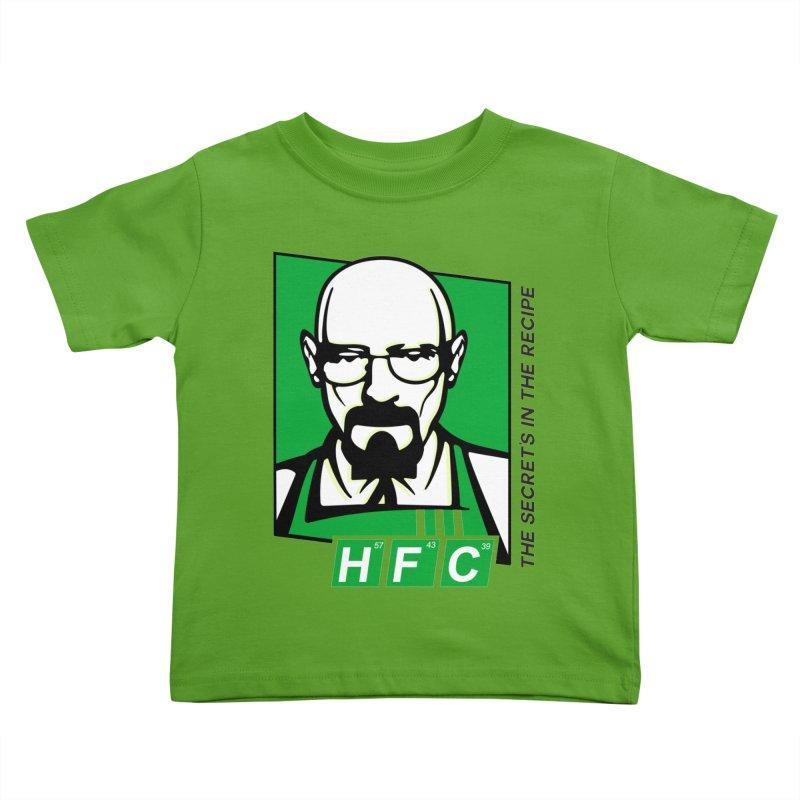 Heisenberg Fried Chicken Kids Toddler T-Shirt by ferg's Artist Shop