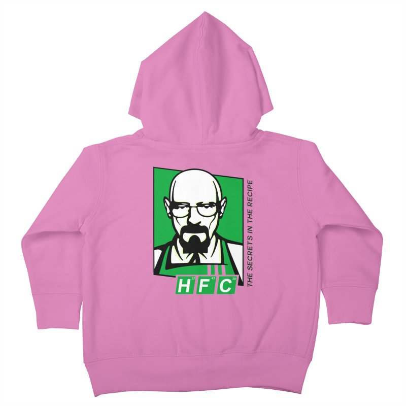Heisenberg Fried Chicken Kids Toddler Zip-Up Hoody by ferg's Artist Shop