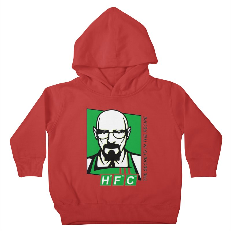 Heisenberg Fried Chicken Kids Toddler Pullover Hoody by ferg's Artist Shop