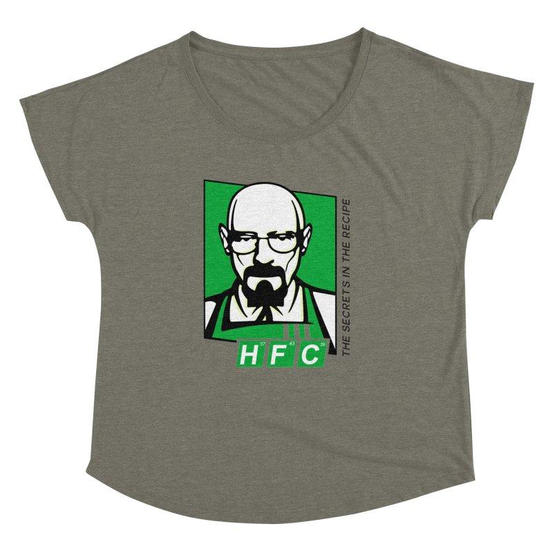 Heisenberg Fried Chicken Women's Dolman by ferg's Artist Shop