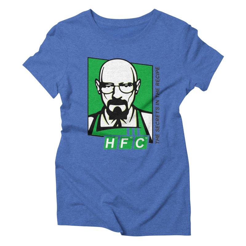 Heisenberg Fried Chicken Women's Triblend T-Shirt by ferg's Artist Shop