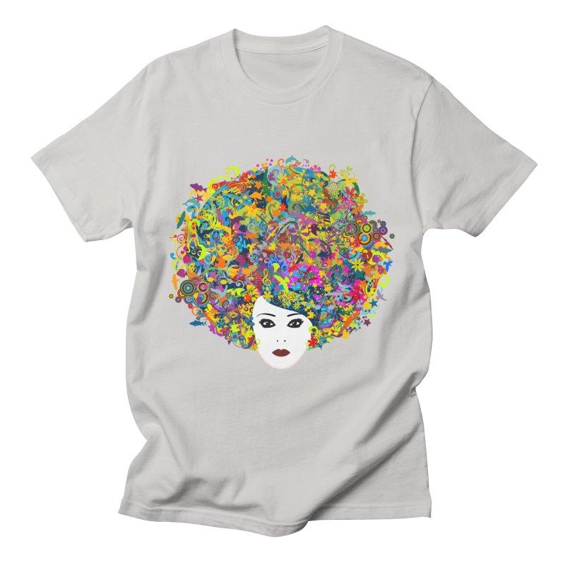 Great Hair Day Men's T-Shirt by ferg's Artist Shop