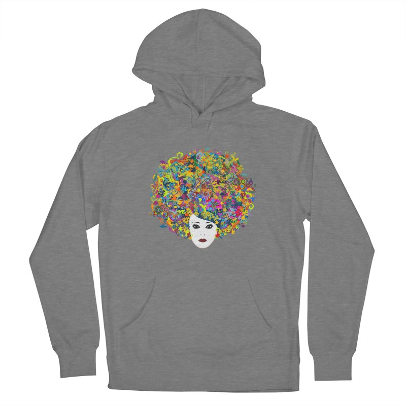 Great Hair Day Women's French Terry Pullover Hoody by ferg's Artist Shop