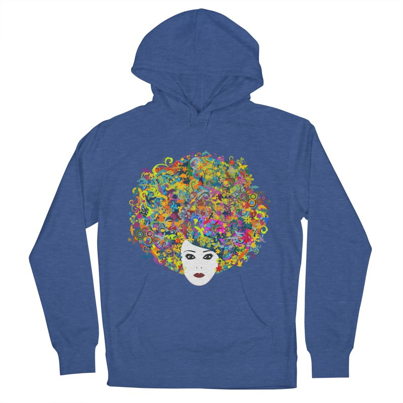 Great Hair Day Women's Pullover Hoody by ferg's Artist Shop