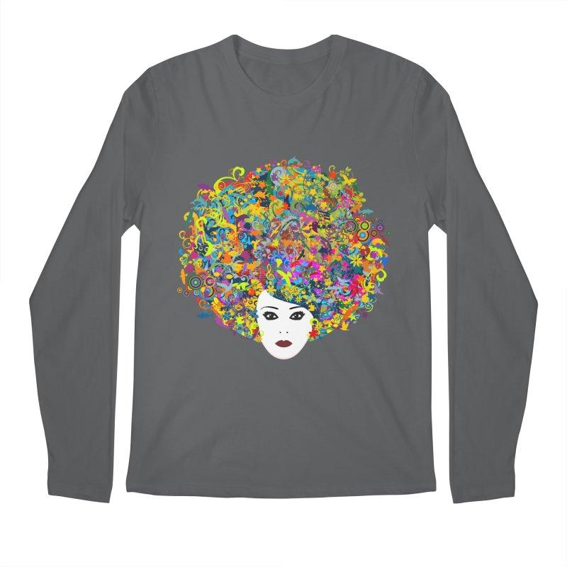 Great Hair Day Men's Regular Longsleeve T-Shirt by ferg's Artist Shop