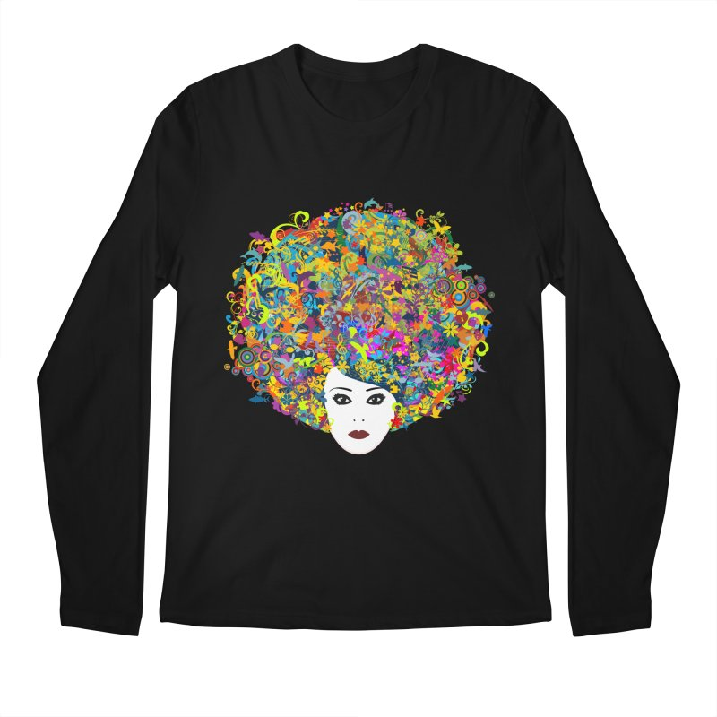 Great Hair Day Men's Longsleeve T-Shirt by ferg's Artist Shop