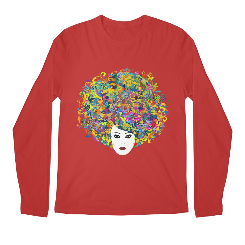 Great Hair Day Men's Regular Longsleeve T-Shirt by ferg's Artist Shop