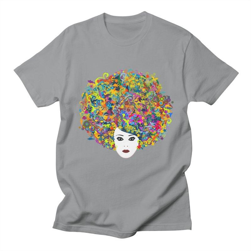 Great Hair Day Men's Regular T-Shirt by ferg's Artist Shop