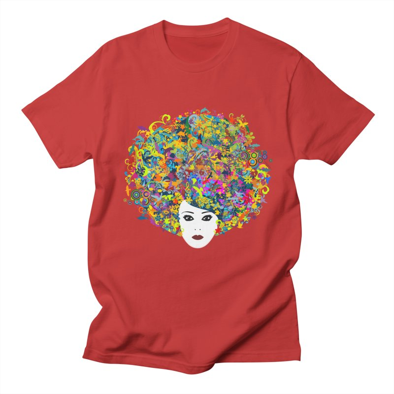 Great Hair Day Men's T-shirt by ferg's Artist Shop