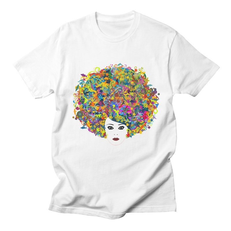 Great Hair Day Men's Regular T-Shirt by ferg's Artist Shop
