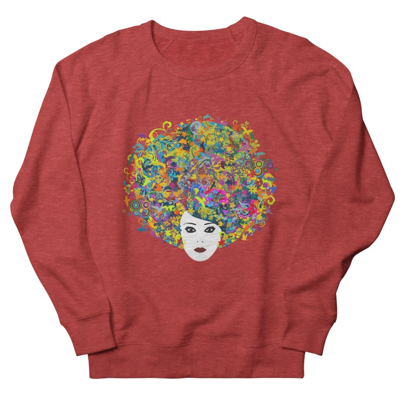 Great Hair Day Women's Sweatshirt by ferg's Artist Shop