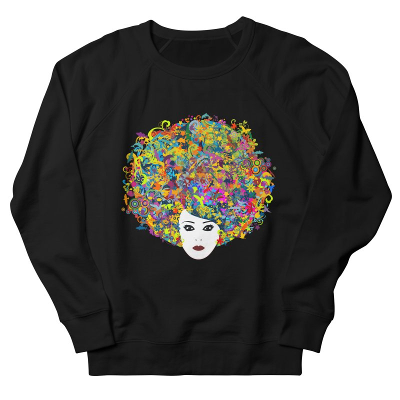 Great Hair Day Women's French Terry Sweatshirt by ferg's Artist Shop