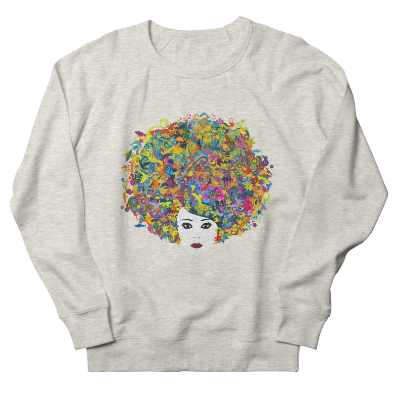 Great Hair Day Women's Sweatshirt by ferg's Artist Shop